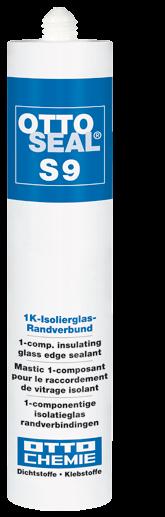 OTTOSEAL S 9,Der 1K-Isolierglas-Randverbund