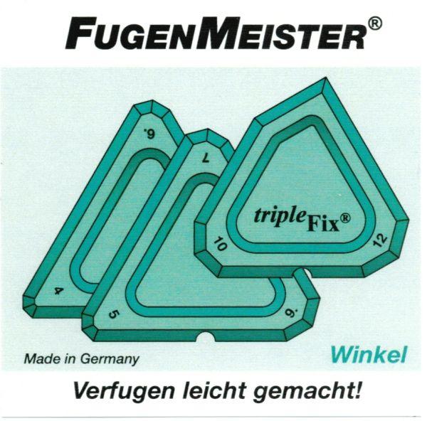 Fugenmeister Fugenglätter TripleFix Winkel