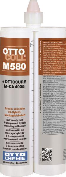 OTTOCOLL® M 580 Der extrem schnelle 2K-Hybrid-Montageklebstoff