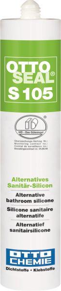 Otto Chemie Ottoseal S105 Standart-Acetat-Silikon Das alternative Sanitär-Silicon