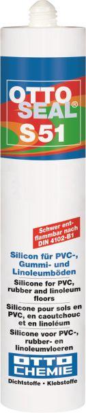 Otto Chemie OTTOSEAL S 51 Das Silicon für PVC-, Gummi- und Linoleumböden