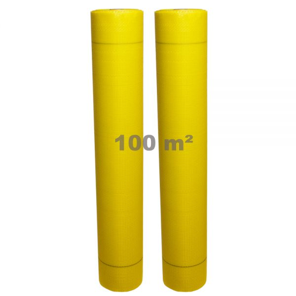 Armierungsgewebe Glasgittergewebe Putzgewebe WDVS Gewebe 165g/m² 4 x 4 mm | 2 x 50 m Rolle