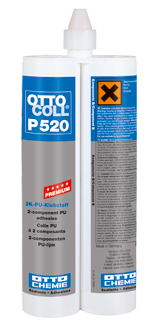 OTTOCOLL® P 520 SP 5276,Zähharter 2K-PU Klebstoff