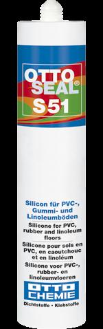 OTTOSEAL S 51 Das Silicon für PVC-, Gummi- und Linoleumböden