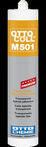 OTTOCOLL® M 501 Der transparente Premium-Hybrid-Klebstoff
