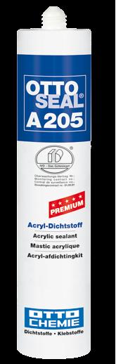 OTTOSEAL® A 205 Der Premium-Acryl-Dichtstoff