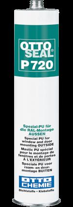 OTTOSEAL® P 720 Das Spezial-PU für die RAL-Montage AUSSEN