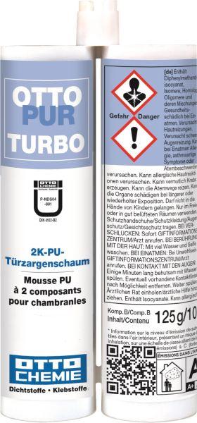 Otto Chemie Ottopur Turbo 2K-Türzargenschaum 2x105ml