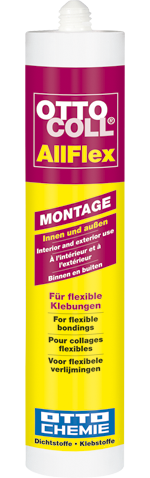 OTTOCOLL® AllFlex Der superflexible Montageklebstoff