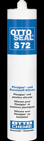 Ottoseal S72 , Das Plexiglas®- und Kunststoff-Silicon