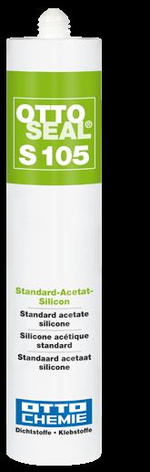 Ottoseal S105 Standart-Acetat-Silikon,Das alternative Sanitär-Silicon
