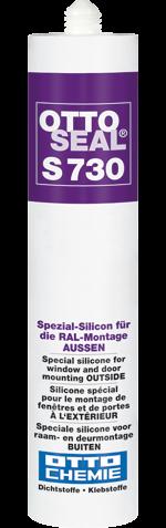 OTTOSEAL® S 730 Das Spezial-Silicon für die RAL-Montage AUSSEN