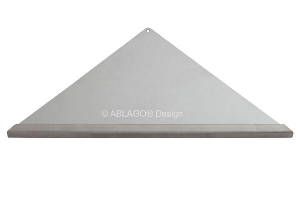 Befliesbare Dusch- und Badablagen aus V2A Edelstahl gebürstet in QUADO Q280