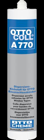 OTTOCOLL A 770 Der Dispersions-Klebstoff für OTTO Bauanschlussbänder