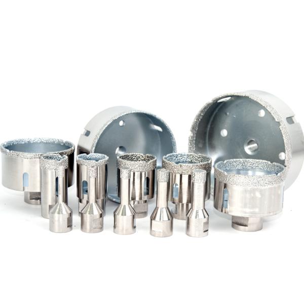 Diamanthohlboher, Bohrkronen, Hohlbohrer für Fliesen, Feinsteinzeug, Granit von Ø6 bis Ø120mm