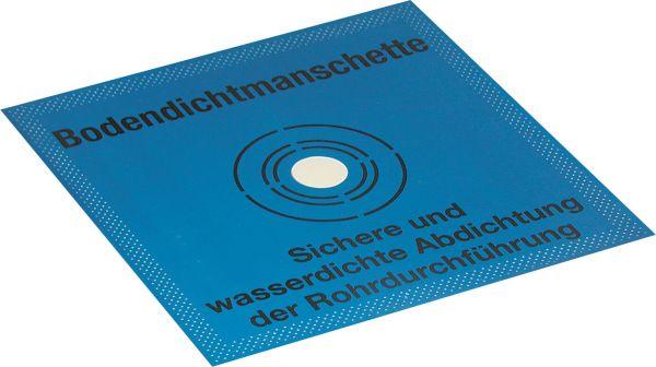 Otto Chemie OTTOFLEX Bodendichtmanschette 42,5 x 42,5 cm | 1 Stück