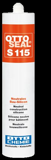 Ottoseal S115 Das neutrale Bau-Silikon