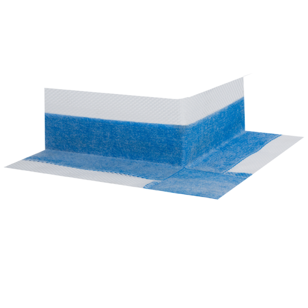 """Dibali Außenecken 90° """"bluetec"""" gewebearmiert mit Dehzone und Faltknick 25 Stück"""